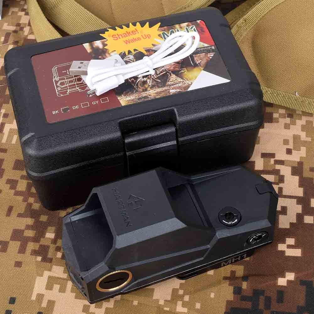 MH1 Red Dot Sight Dual Motion Sensor Reflex Scope Large Field With QD Quick Detach And USB Charger For Tactical Hunting Airsoft