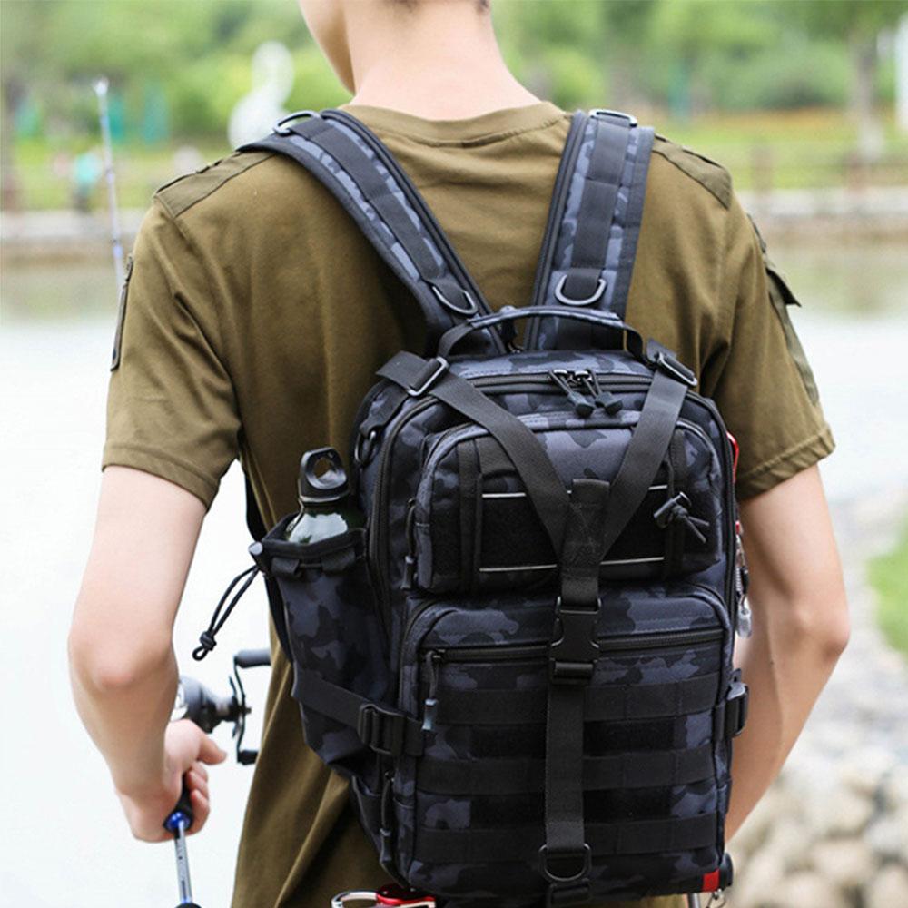 Военный тактический рюкзак X177G, многофункциональный мужской рюкзак для активного отдыха, походов и рыбалки