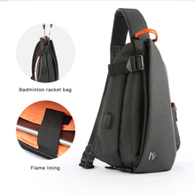 Fashion man  Crossbody Bags USB Charging Chest Pack Short Trip Messengers Bag Water Repellent Shoulder Bag frn new usb charging chest pack men casual shoulder crossbody bag chest bag water repellent travel messenger bag male sling bag