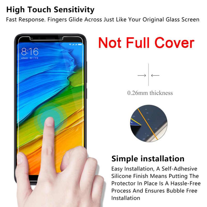 Toughed 9H HD Pelindung Layar untuk Xiaomi Redmi 7 K20 6 Pro 5 Plus Tempered Film Pelindung Kaca Di redmi 7A 6A 5A 4A 4X