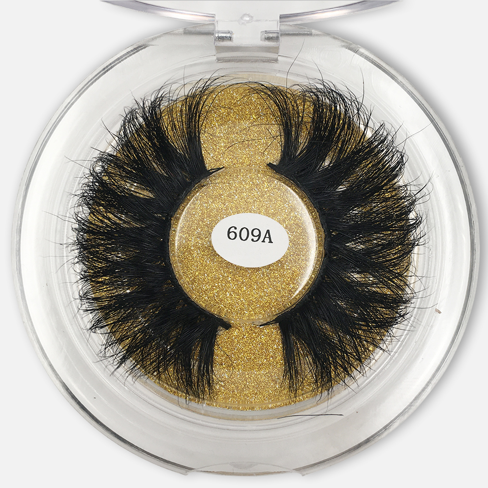 3d Mink Lashes 25mm Dramatic Long Thick Volume False Eyelashes Extension Make Up 100% Mink Eyelashes Maquillaje Vendors