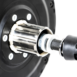Image 4 - Cassette EUNORAU 36V500W DGW22C brushless geared high torque rear hub motor