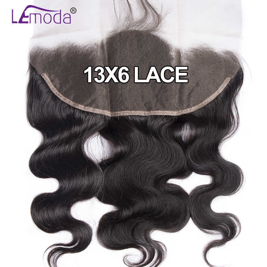 13x6 Body Wave Lace Frontal Closure Remy Human Hair 13x4 Ear To Ear Lace Closure Pre Plucked With Baby Hair Frontal Closure