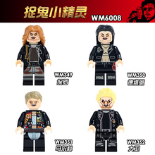 WM6008  Model Building Blocks Paul Dwayne Marko David The Lost Boys Movie Characters Figures Educational Children Toys