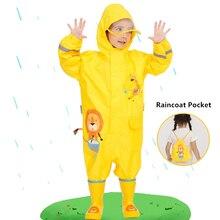 תינוק Rompers בני ובנות עמיד למים סרבלי ילדים בגדי סטי 1 9 שנים ילדי Romper בגדים עמיד למים