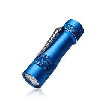 LUMINTOP FW3A Blue 3x XP-L Hi/SST20/219C 2800LM UI Compact EDC Flashlight LED Keychain Light for Camping Torch Lantern Pocket