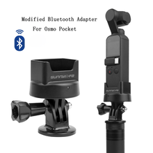 For DJI Osmo Pocket Accessories Wireless Charging Base Handheld Gimbal Bluetooth Controller Mount For DJI Osmo Pocket Gimbal