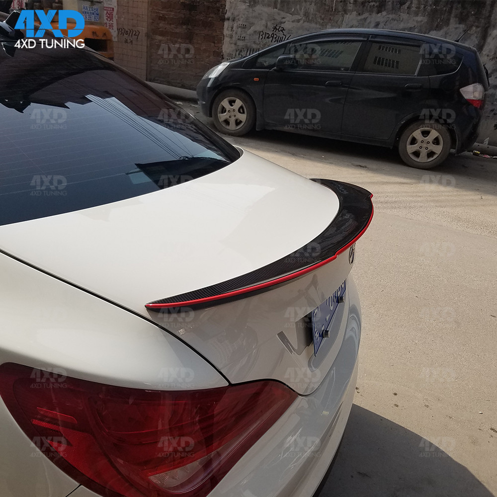 W117 Carbon Fiber Trunk Spoiler For Mercedes CLA AMG C117 Rear - Auto Replacement Parts - Photo 5