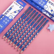 Деревянный карандаш с отверстиями m & g 2b hb 2h нетоксичные