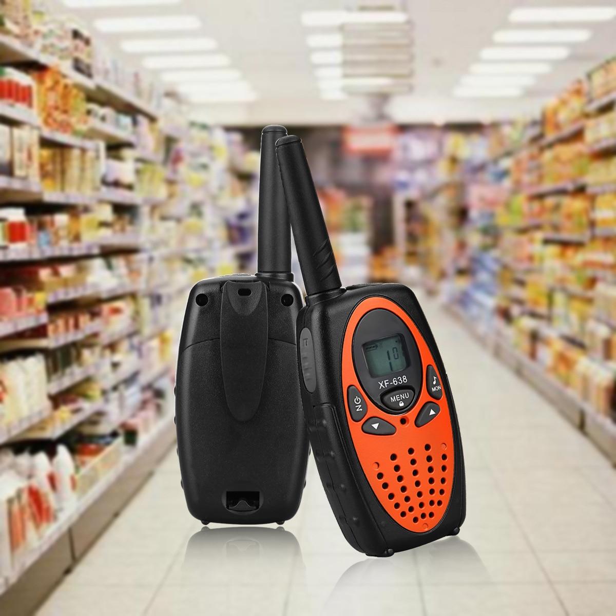Walkie-talkie portátil do brinquedo das crianças 0.5