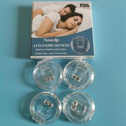 4 sztuk urządzenie przeciw chrapaniu silikonowy magnetyczny Clipple powstrzymywacz chrapania nos oddychanie Non Solution pomoc antichrapanie do spania