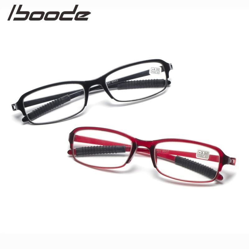 IBOODE Square Reading Glasses Women Men Presbyopic Eyeglasses Female Male Hyperopia Eyewear Unisex Optics Magnifying Spectacles