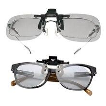 3D Glasses 1 Pair Clip On Type Passive Circular Polarized 3D
