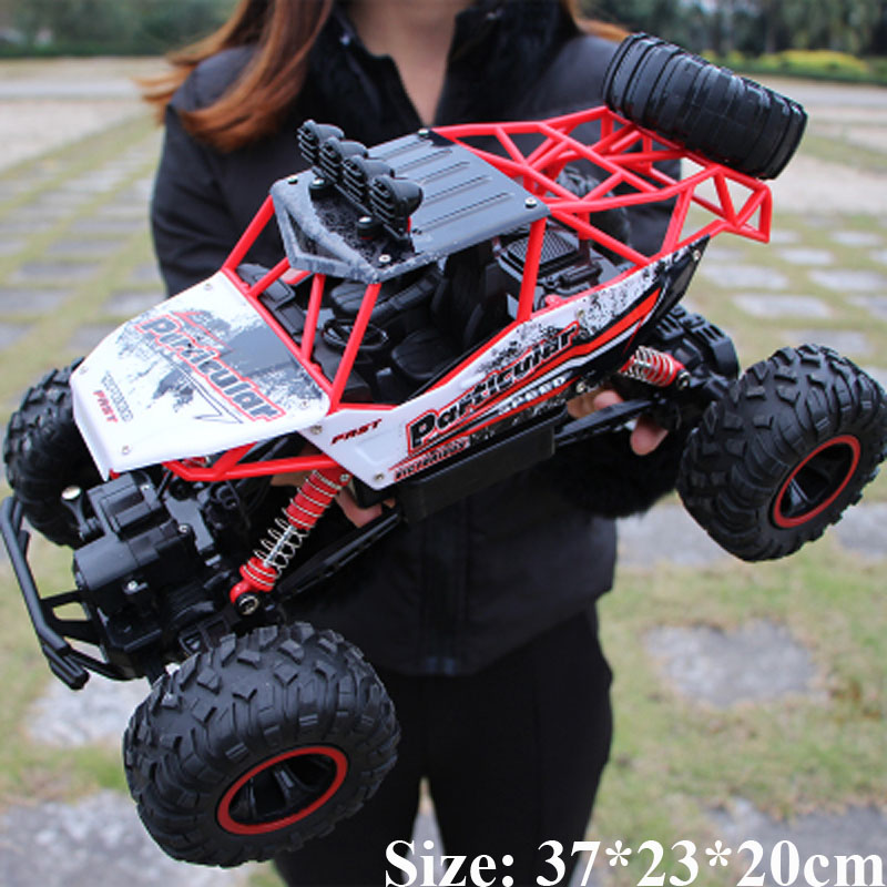 <font><b>RC</b></font> <font><b>Car</b></font> 4WD 2.4GHz climbing <font><b>Car</b></font> 4x4 Double <font><b>Motors</b></font> Bigfoot <font><b>Car</b></font> Remote Control Model Off-Road Vehicle Toy image