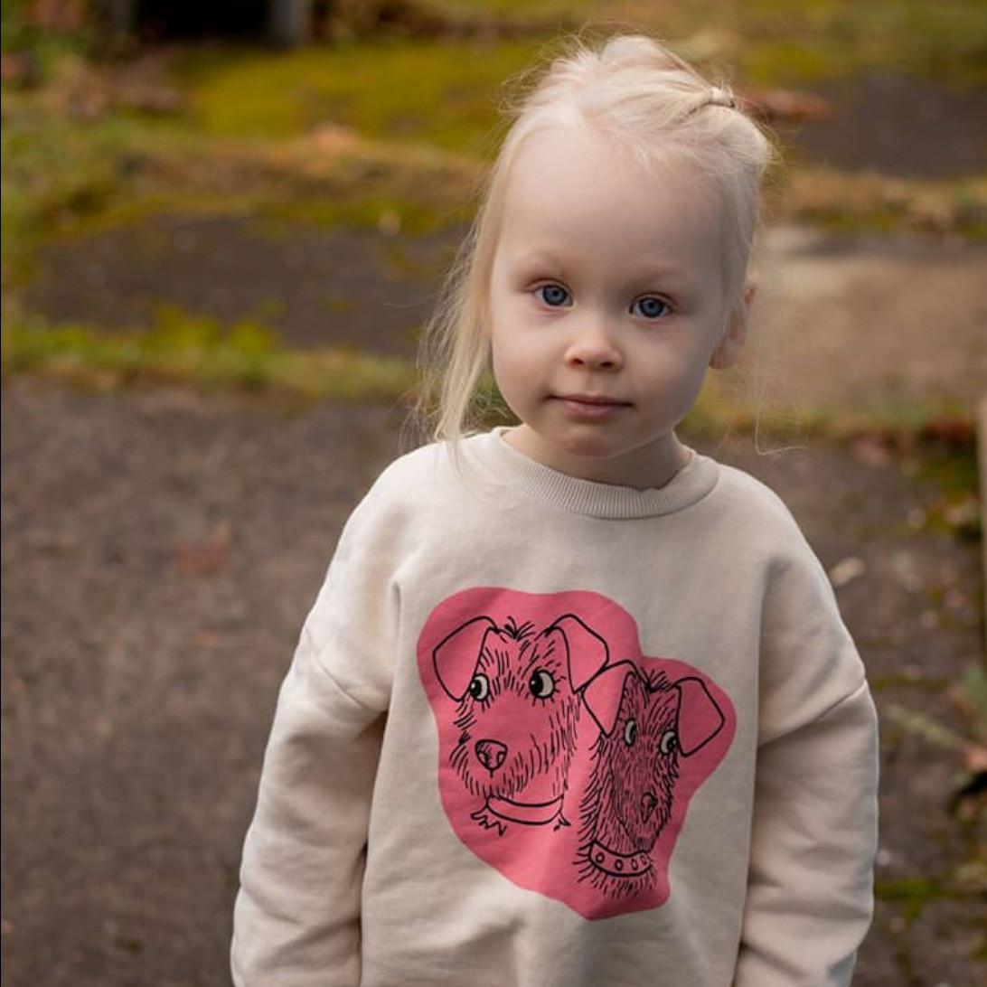 2021 New Spring Mini Brand Kids Sweatshirt Dog Cartoon Long Sleeve T-Shirts Boys Girls Casual Tops Tee Children Baby Clothes 6
