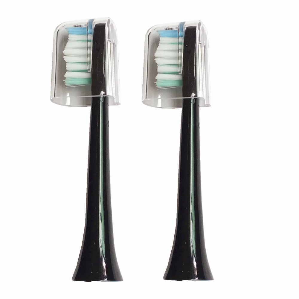 2 Pcs Toothbrushes Head For Sarmocare S100/200 Ultrasonic Sonic Electric Toothbrush Fit Digoo DG-YS11 Electric Toothbrushes Head