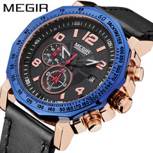 Top Fashion Luxury Brand Men Waterproof Military Sports Watches Men's Quartz Analog Leather Waterproof  Wrist Watch men watch women reloj mujer horloges mannen military leather waterproof date quartz analog army men s quartz wrist watches 4