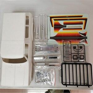 Корпус автомобиля Пластиковый корпус 313 мм Колесная база в разобранном виде для 1/10 Traxxas Trx4 Bronco Axial SCX10 90046 RC автозапчасти аксессуары