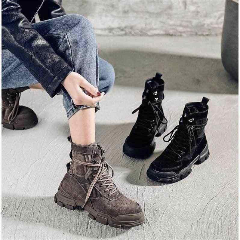 Vrouwen Winter Korte Laarzen Dames Mid Vierkante Hakken Mode Warme Schoenen Vrouw Rood Zwart Abrikoos Enkellaarsjes 2019