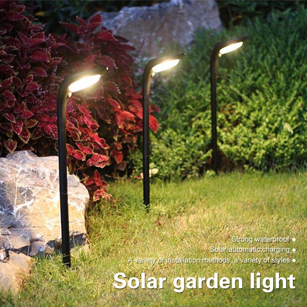 Güneş çim ışığı LED güneş işık bahçe dekorasyon lambaları LED güneş çim ışığı güneş enerjili lamba yolu payı duvar fenerler lamba