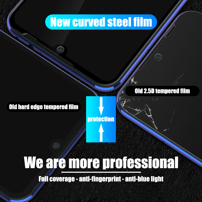 Image 5 - 9D Tempered Glass For Xiaomi Redmi note 5 6 7 Pro Screen Protector On The Redmi 6A 6 Pro Glass Protective Glass On Redmi Note 7-in Phone Screen Protectors from Cellphones & Telecommunications