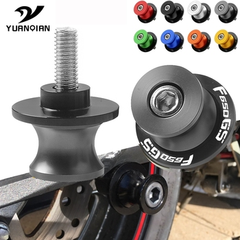 Motorcycle Accessories Parts Swingarm Spools Slider Stand Screws 6mm 8mm 10mm Motor Stand Screws For BMW F650GS F 650GS F650 GS image