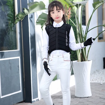 EVA Children's Equestrian Armor Riding Vest Protective Clothing Equestrian Competition Outdoor Safety Protection Equipment