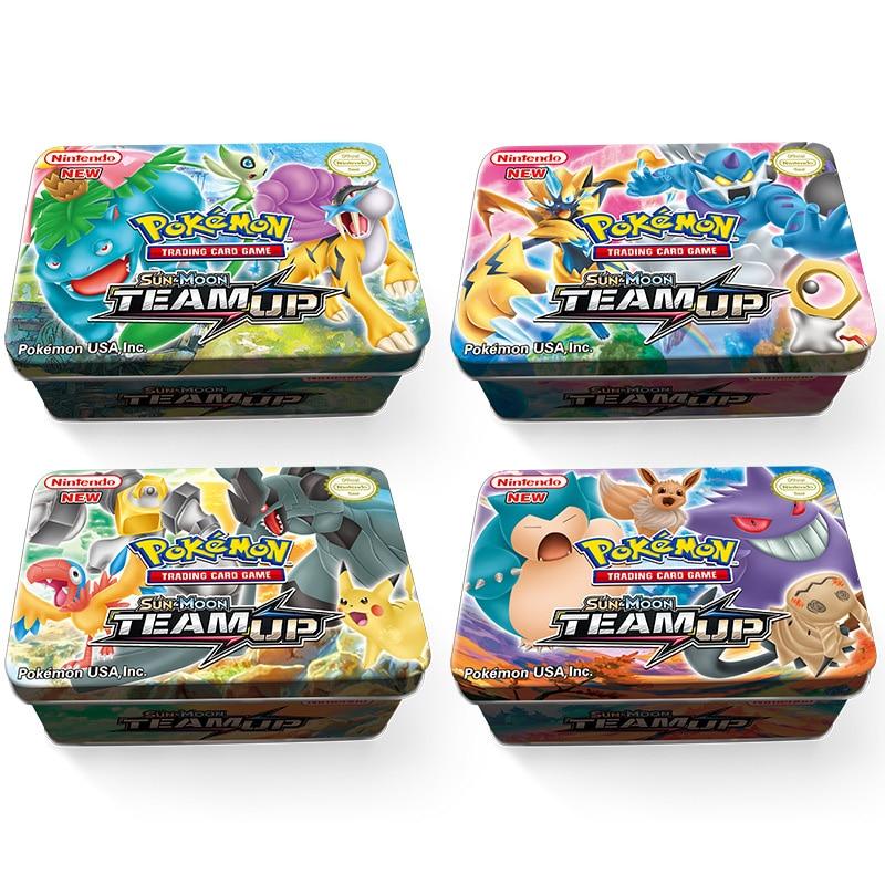 42pcs/set Iron Box Pokemon TAKARA TOMY Battle Toys
