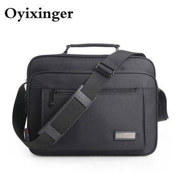 À prova dwaterproof água preto homens maleta de alta qualidade marca sacos de ombro para as mulheres mensageiro saco crossbody sacos bolso hombre 2021 1