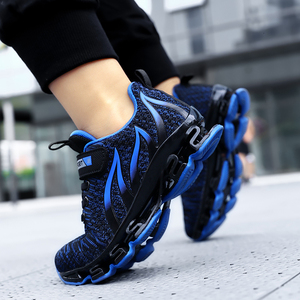 Image 3 - Big Children Running Shoes Boys Sneakers Spring Autumn Breathable Shoes Kids Sport Shoes Light Outdoor Hollow Sole Tenis Shoes