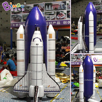 Customized 2.5m height inflatable rocket bounce / inflatable rocket ship / rocket inflatable toys