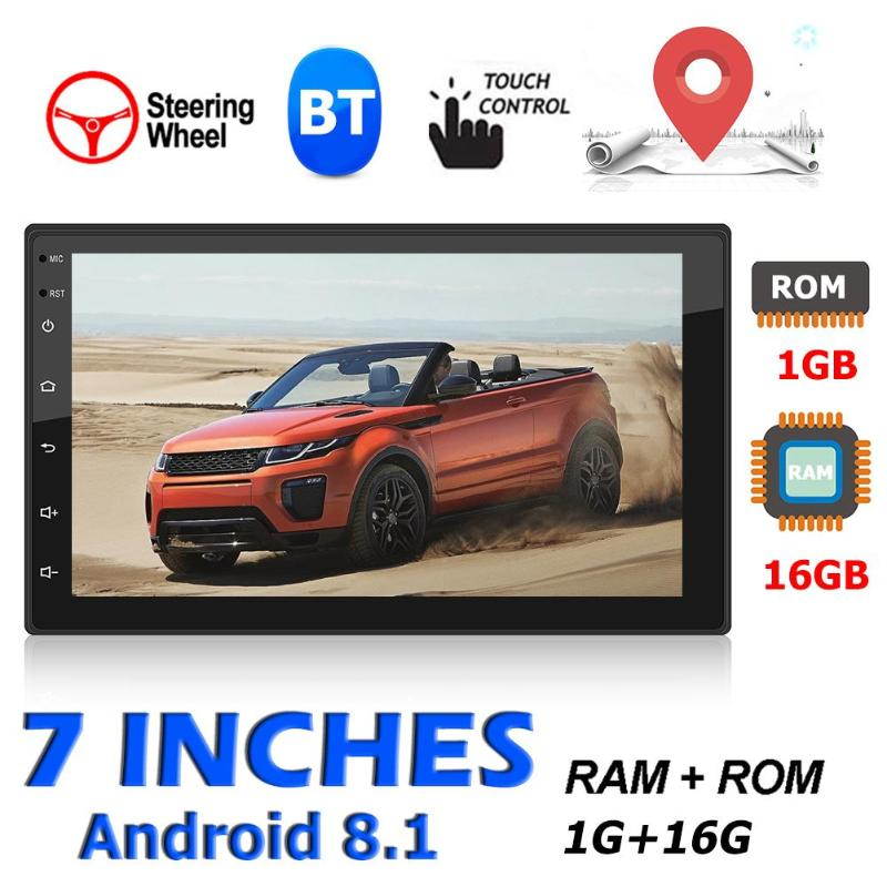 Head Unit <font><b>GPS</b></font> Navigation 9217 Android 8.1 New and High Quality Lightweight and Delicate BT WiFi USB Radio Receiver <font><b>Car</b></font> Stereo image