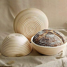 Ensemble de paniers d'épreuve de pain de 9 pouces, avec doublure en tissu, Lame de grattoir à pain pour boulangers professionnels à domicile SCI88