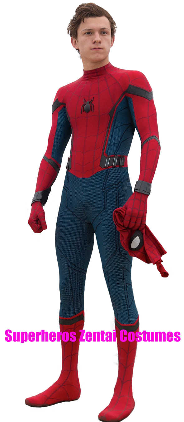 Nuovo Costume Cosplay Spider-Man Homecoming stampato in 3D Spiderman Homecoming Spandex Suit più recente Spidey body Custom Made