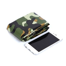PET Aluminized Film Camouflage Emergency Double Sleeping Bag Outdoor First Aid