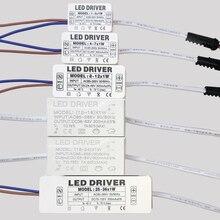 Светодиодный драйвер 300mA 1 Вт 3 Вт 5 Вт 7 Вт/12 Вт/18 Вт/24 Вт/25 Вт 36 Вт светодиодный s Питание блок AC85-265V трансформаторы систем освещения для Светодиодный Мощность огни