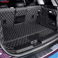 Car Fully enclosed trunk protection mat leather pad For BMW MINI COOPER ONE F54 F55 F56 F60 R60 CLUBMAN Car accessories interior|  -