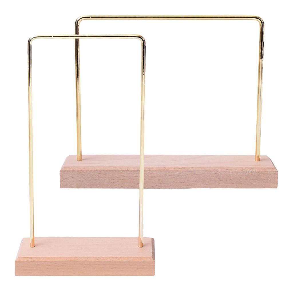 2 pçs portátil jóias organizador rack para