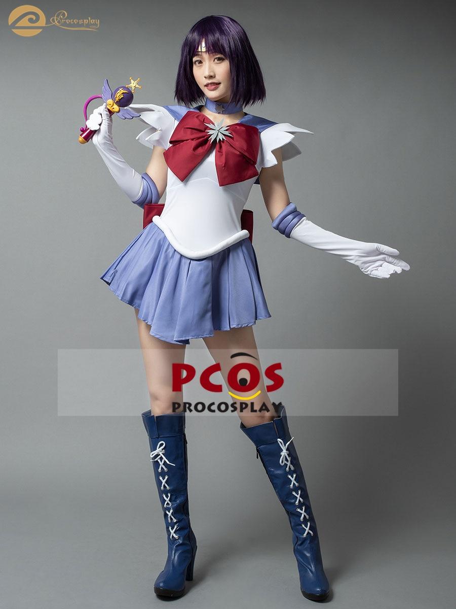 Sailor Moon Cosplay Costume Accessory Sailor Saturn Tomoe Hotaru Gloves