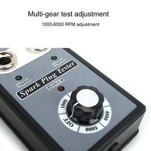 Image 4 - Auto Car Spark Plug Testerปรับได้Double Holeเครื่องตรวจจับจุดระเบิดปลั๊กเครื่องวิเคราะห์EU Plugสำหรับเบนซิน 12Vรถ