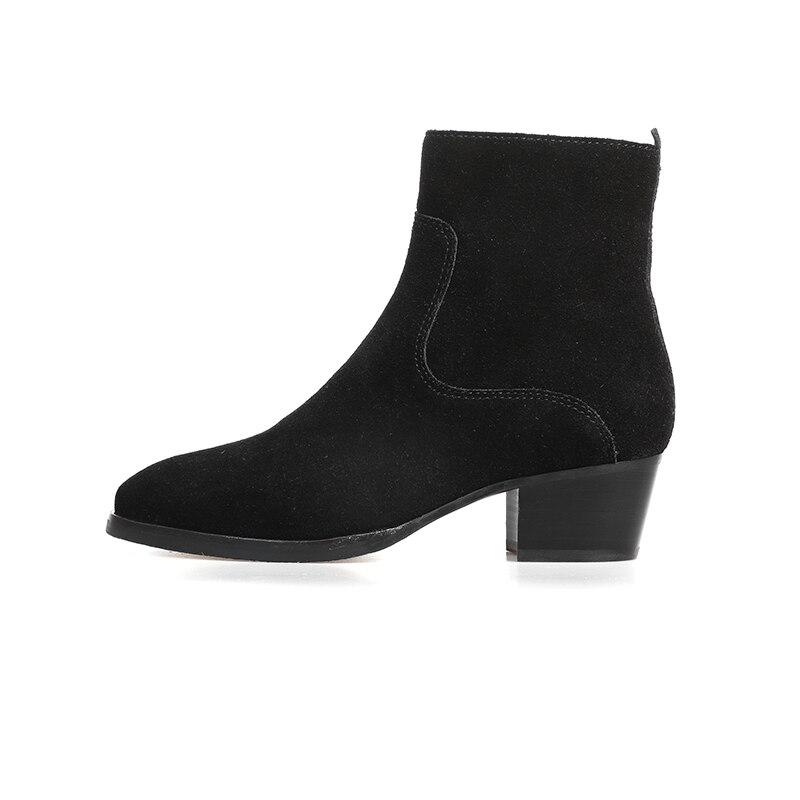 2019 nouvelles chaussures de confort en cuir à talons hauts pour femmes