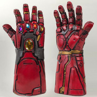 Мстители эндгейм Железный человек Бесконечность гаунтлет Косплей рука танос латексные перчатки руки маски супергероев бутафорское оружие...
