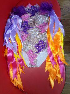 Image 2 - Комбинезон с бахромой Женский, разные цвета, для празднования дня рождения, бара, певицы, танцев