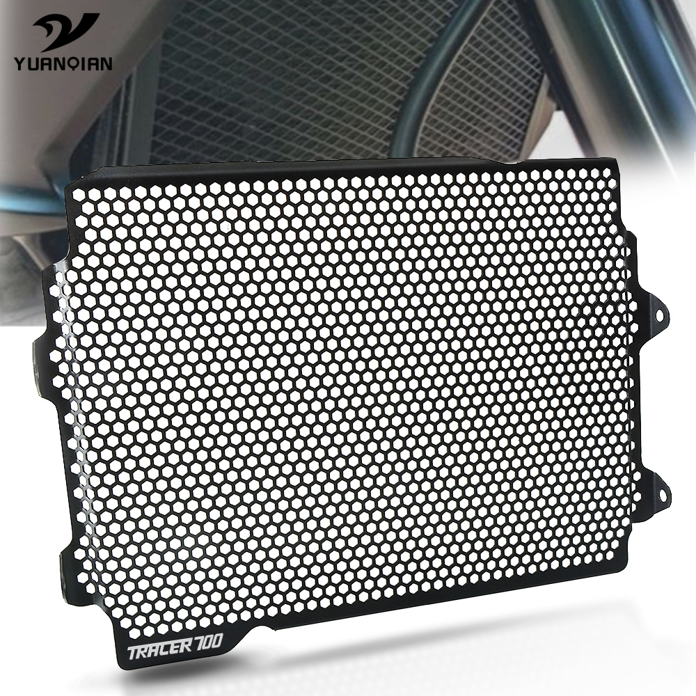 For YAMAHA TRACER 700 2016-2020 2019 <font><b>2018</b></font> 2017 <font><b>CNC</b></font> Motorcycle Radiator Protective Cover Guards Radiator Grille Cover Protecter image