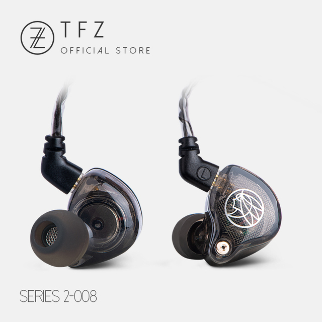 TFZ S2 In Ear Earphone Hifi Wired Earbuds DJ Dynamic Driver Transparent Bass Headset With 0.78 2PIN Cable 2