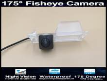 175 Degree 1080P Fisheye Lens Reverse Parking Car Rear view Camera For Fiat Bravo 2011 2012 Rearview Camera(China)