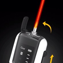 VFL Visual Fault Locator Rechargeable battery fiber with flash light 5MW 15MW 20MW 30MW Adjustable fiber optic red light pen