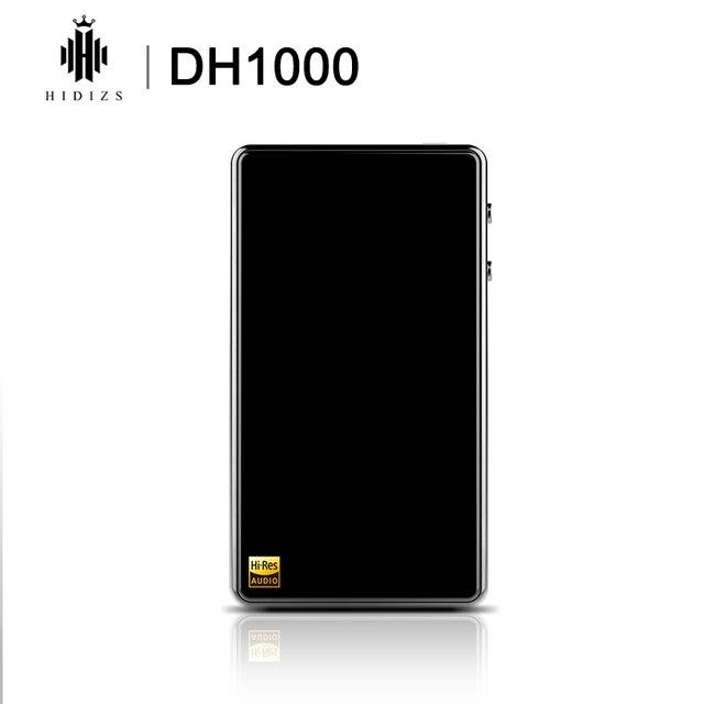 HIDIZS DH1000 כפול מאוזן מגבר 2.5/3.5mm שקעי אוזניות תמיכה PCM 24 Bit/192kHz ילידים DSD64/128 היי Res אודיו