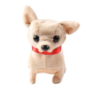 Gorący sprzedawanie elektryczny miękki pluszowy Robot pies Husky zabawki mogą kora chodzenie do przodu i do tyłu zabawki symulacyjne dla dzieci prezenty tanie i dobre opinie hehepopo Pp bawełna 8 ~ 13 Lat Urodzenia ~ 24 Miesięcy 2-4 lat 5-7 lat Electronic Plush Toys 11 cm-30 cm Zwierzęta i Natura