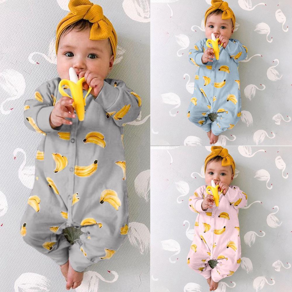 2019 Nieuwe Winter Fleece Baby Kleding Baby Meisjes Jongens Lange Mouwen Bodysuit Baby Boy Jumpsuit  Ropa Bebe Baby Romper A2